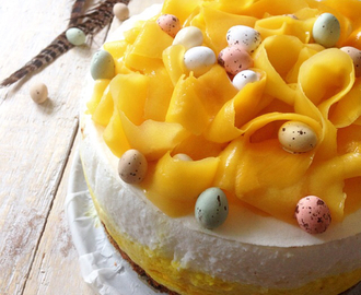 Paasrecept: Mango cheesecake