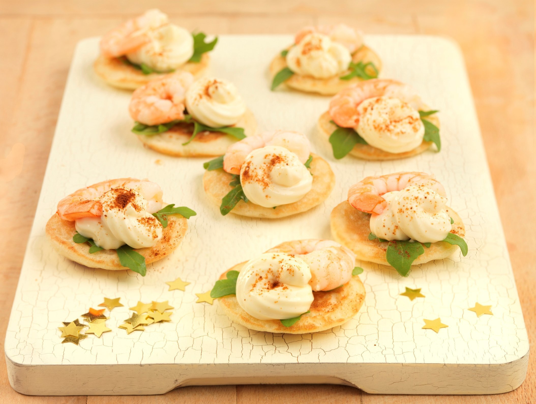 Party Food : Prawn Cocktail Canapes