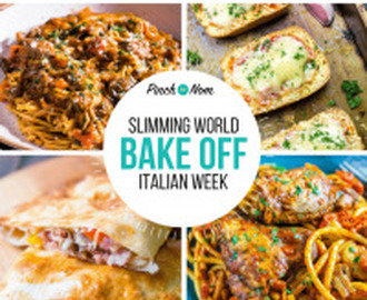 Bake Off – Italian Week | Slimming World