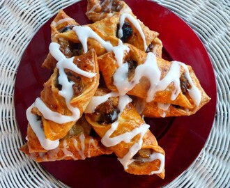 Easy Apple and Cinnamon Danish Pastries