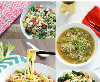 10 Healthy Spiralized Recipes Under 350 Calories