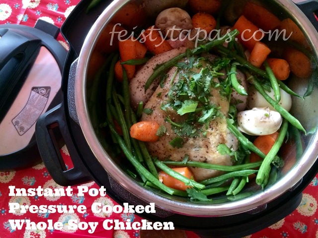Instant Pot Pressure Cooker Whole Soy Chicken