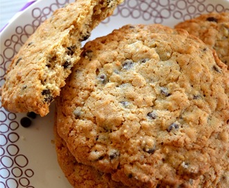 Classic Chocolate Chip Cinnamon Oatmeal Cookies