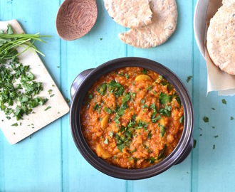 Red Lentil, Spinach & Potato Curry with Baobab [& a Giveaway!]