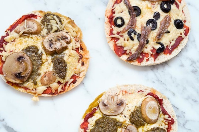 Pita Pizza's (ideaal voor lunch/diner of borrel)
