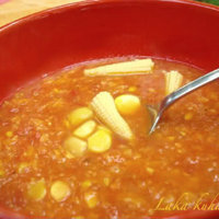 Creamy Mexican corn and tomato soup Recipe