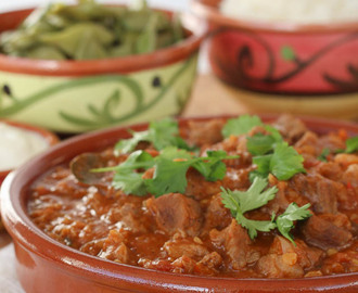 'Rogan Josh' curry van lamsvlees