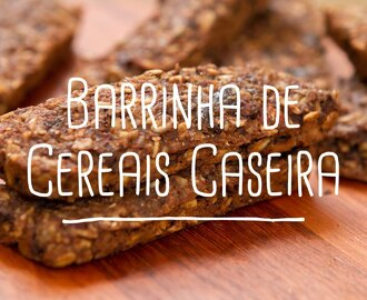 Barrinha de Cereal Light Receita.