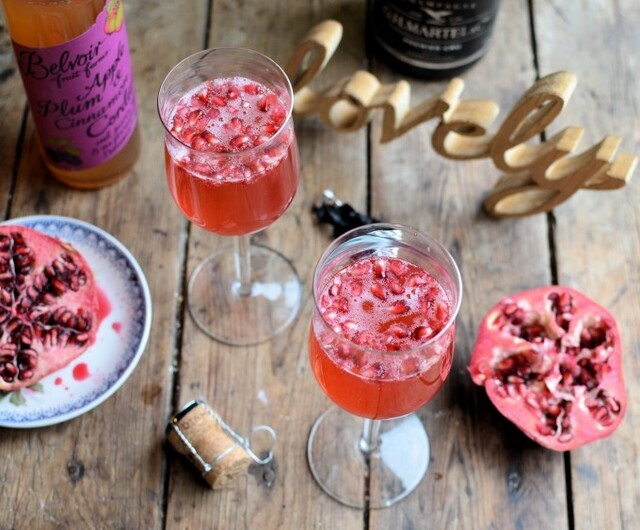 New Year Cocktails, Mocktails and Christmas Leftovers! Sugar Plum Fairy Cocktail