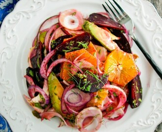 Citrus Salad with Roasted Beets & Shaved Fennel