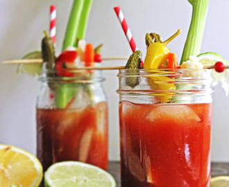 Guest Post: Dill Pickle Bloody Mary by Rhubarbarians