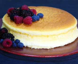 Cheesecake Japonés (Tarta de Queso Japonesa o Soft Cotton Cake)
