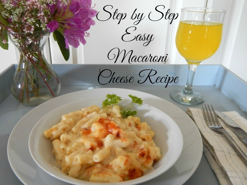 Easy Macaroni Cheese Recipe