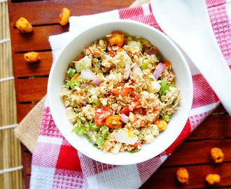 How to make Oats Bhel Puri