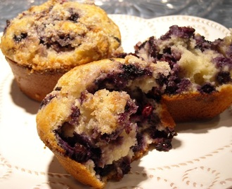 Best Reduced-Carb Blueberry Muffin EVER!