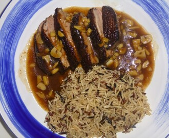 Five Spice Duck Breast with a Tamarind Sauce Recipe