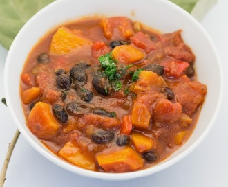 Butternut Squash Bean Chili