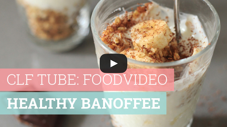 Foodvideo: Healthy banoffee