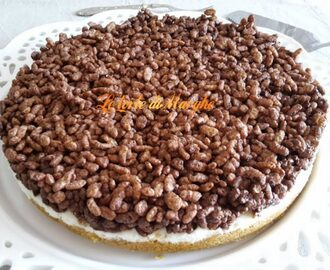 Cheesecake al mascarpone e nutella
