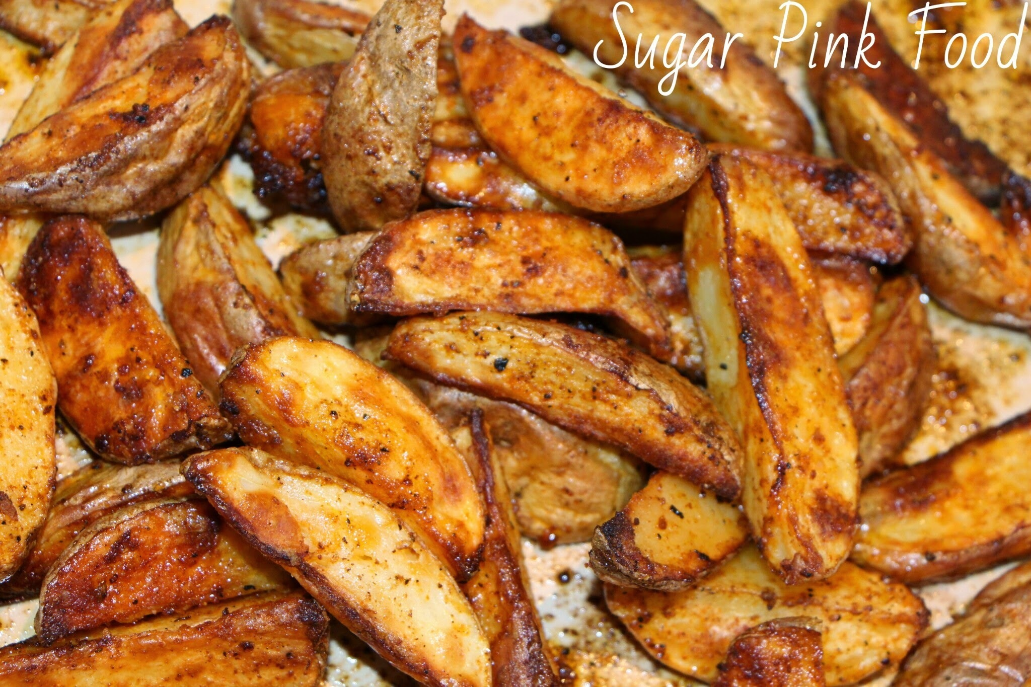 Slimming World Recipes:- Spicy Potato Wedges