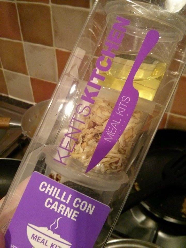 Kents Kitchen Meal Kit - Chilli Con Carne Recipe.