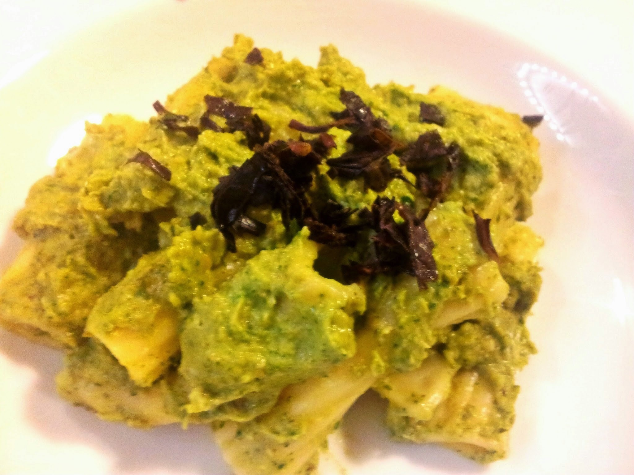 Vegan Pesto Sosu