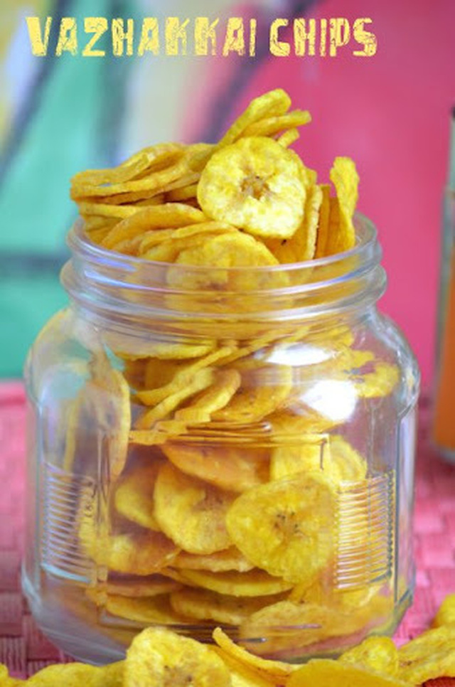 Nendran Vazhakkai Chips/Raw Banana Chips