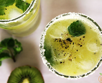 Mint Kiwi Lemonade | How to make Kiwi Lemonade