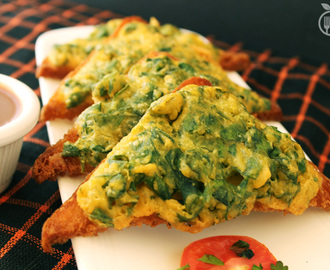 Deep Fried Fenugreek Toasts (Methi Toasts)