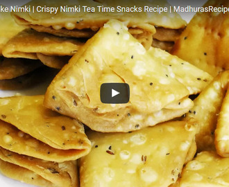 Nimki Recipe Video