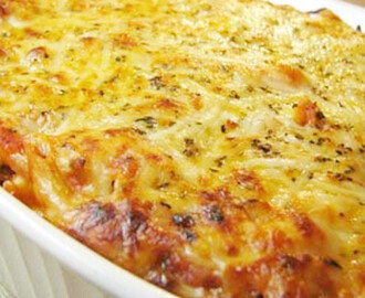 Travessa Colorida de Bacalhau Gratinado no Forno