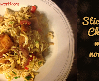 Easy Sticky Soy Chicken Noodles with Amoy