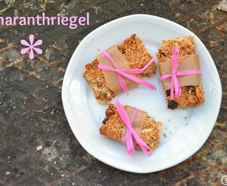 Amarantriegel - mein perfekter Wandersnack {Amaranth Bars - the Perfect Hiking Snack}