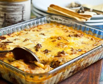 Low Fodmap Moussaka