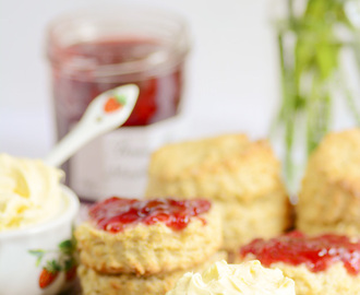 Scones for National Cream Tea Day