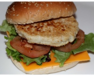 Hamburguesa de pollo en Thermomix