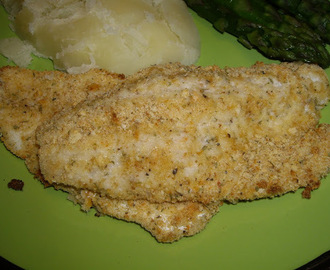 Oven Baked Pickerel Fillets