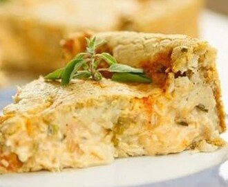 Quiche de Frango Light