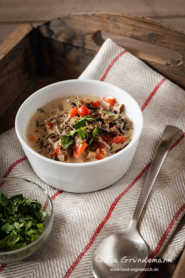 Rice Route | Next Stop Canada: A Wild Rice Chowder