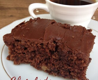 Chocolade havermout cake