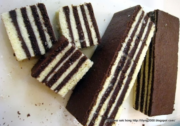 Cream Cheese Chocolate Layer/Lapis Cake - Cakes For Chinese New Year