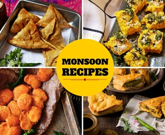 18 Scrumptious Snack Recipes That You Can Cook On A Rainy Monsoon Days