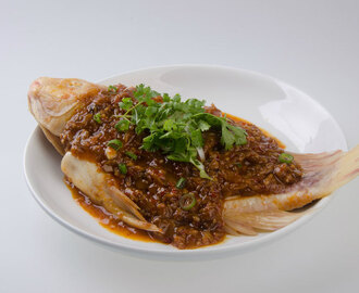 Spicy, Sour, and Tangy Tom Yum Steamed Fish Recipe