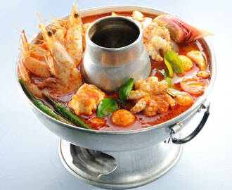 Flavorsome Tom Yum Steamboat Soup Recipe