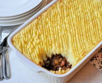 Cottage pie; Engels comford food
