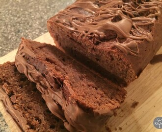 Low fat Banana Chocolate Loaf