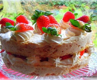 Strawberry and Almond Dacquoise Gluten-Free