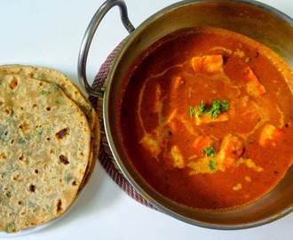 Paneer  Butter masala   ( Indian cottage cheese )