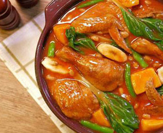 Pork and Chicken Pochero Recipe