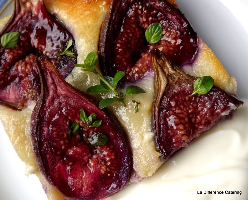 Fig  & Goat's Cheese Dessert Tart